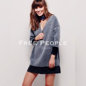 Free People All about it Dreamy oversized V-Neck